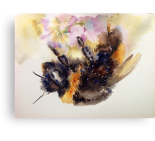 The return of Mr Bumble Canvas Print