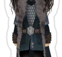 "Cute Thorin Oakenshield  / ""The Hobbit"" Sticker"