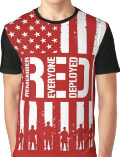 R.E.D. (Remember Everyone Deployed) Graphic T-Shirt