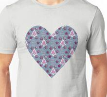 Joy, Peace, Love! blue Unisex T-Shirt