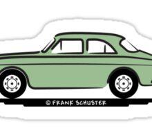 Volvo Amazon Green Eerkes Dad's and Boyfriend's Sticker