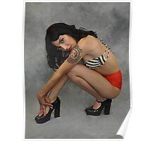 """"""" Britt Pin Up """" Poster"""
