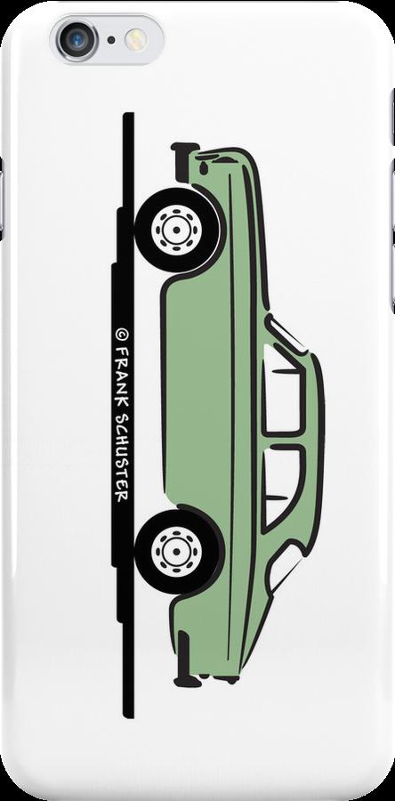Volvo Amazon Green Eerkes Dad's and Boyfriend's by Frank Schuster