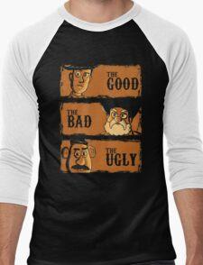 The Good The Bad the potato Men's Baseball ¾ T-Shirt