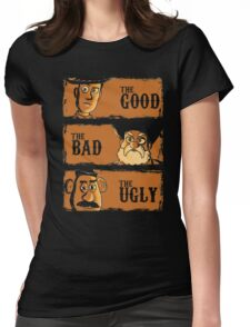 The Good The Bad the potato Womens Fitted T-Shirt