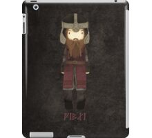 "cute Gimli son of Gloin / ""the Lord of the Rings"" iPad Case/Skin"