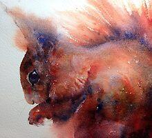 Red Squirrel by Karl Fletcher