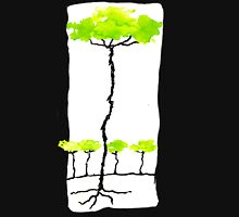 Trunky Trees Womens Fitted T-Shirt