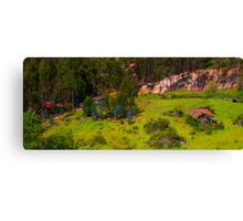 On the Trail to Cojitambo, Ecuador Canvas Print
