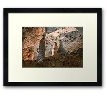 Room of the Giants-Carlsbad Caverns Framed Print