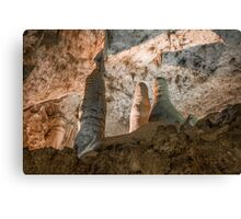 Room of the Giants-Carlsbad Caverns Canvas Print