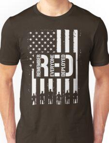 R.E.D. (Remember Everyone Deployed) Unisex T-Shirt