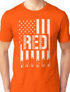 R.E.D. (Remember Everyone Deployed) Unisex T-Shirt