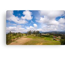 On the Trail to Cojitambo, Ecuador 4 Canvas Print