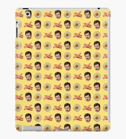 Eggs, Bacon, Ron Swanson iPad Case/Skin