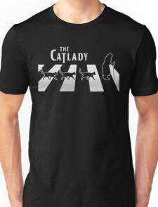 Cat Lady funny parody Unisex T-Shirt