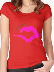 Married to the Mob Women's Fitted Scoop T-Shirt