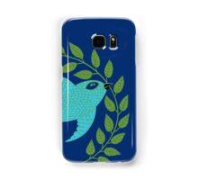 Bluebird with Green Garland  Samsung Galaxy Case/Skin