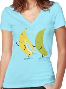 Madura! Women's Fitted V-Neck T-Shirt