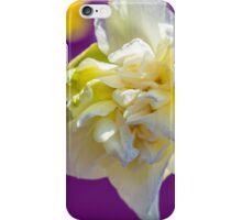 iPhone Case Drowsy Daffodil iPhone Case/Skin