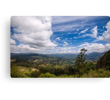 On the Trail to Cojitambo, Ecuador 6 Canvas Print