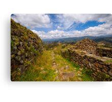 Inca Ruins, Cojitambo, Ecuador 3 Canvas Print