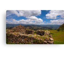 Inca Ruins, Cojitambo, Ecuador 4 Canvas Print