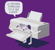 La primera impresión by Andres Colmenares