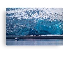 Glacier Face Canvas Print