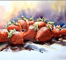 Strawberries by Karl Fletcher
