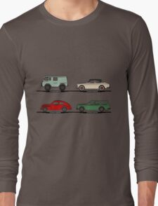 Volvo Lineup Long Sleeve T-Shirt
