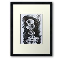 Ink Sketch - Up is the Only Way. 2013 Framed Print