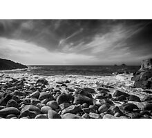 Cot Valley Porth Nanven 4 Black and White Photographic Print