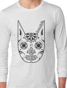 Dia de los ManBat - Hero sugar skull Long Sleeve T-Shirt