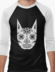 Dia de los ManBat - Hero sugar skull Men's Baseball ¾ T-Shirt