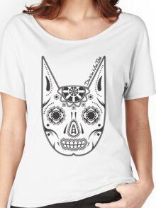 Dia de los ManBat - Hero sugar skull Women's Relaxed Fit T-Shirt
