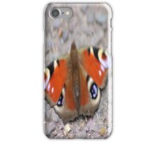 Butterfly blurred iPhone Case/Skin
