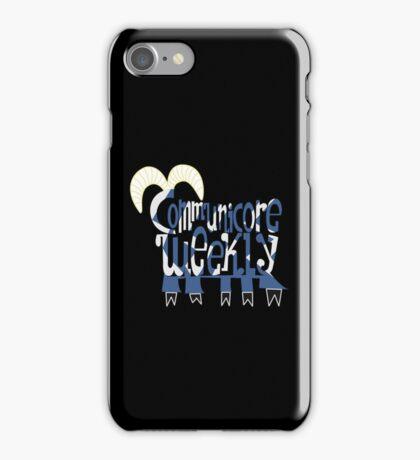 Communicore Weekly Five Legged Goat Logo - iPhone Case iPhone Case/Skin