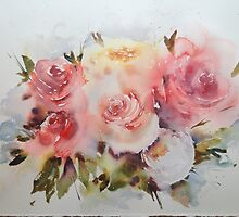 Roses by Karl Fletcher