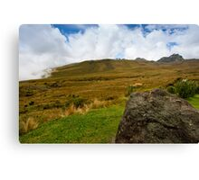 Pichincha Volcano Canvas Print
