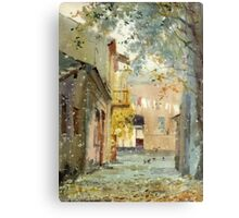 Fall motive Metal Print