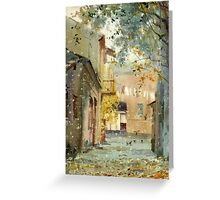 Fall motive Greeting Card
