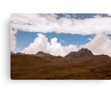 Pichincha Volcano 2 Canvas Print