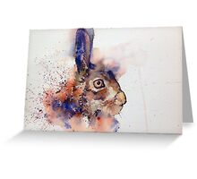 Mr Rabbit Greeting Card