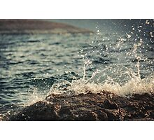 Waves in Time II Photographic Print