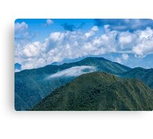 Andes Peaks Near Quito, Ecuador Canvas Print