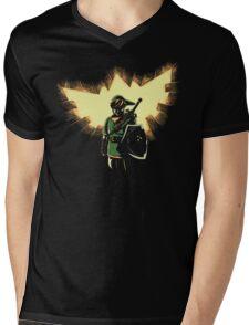 The Legend Rises Mens V-Neck T-Shirt