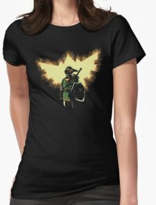 The Legend Rises Womens Fitted T-Shirt