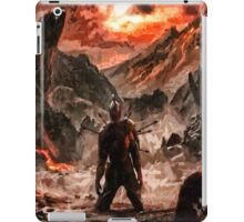 Defiant to the End iPad Case/Skin