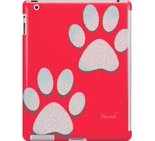 dog tracks iPad Case/Skin